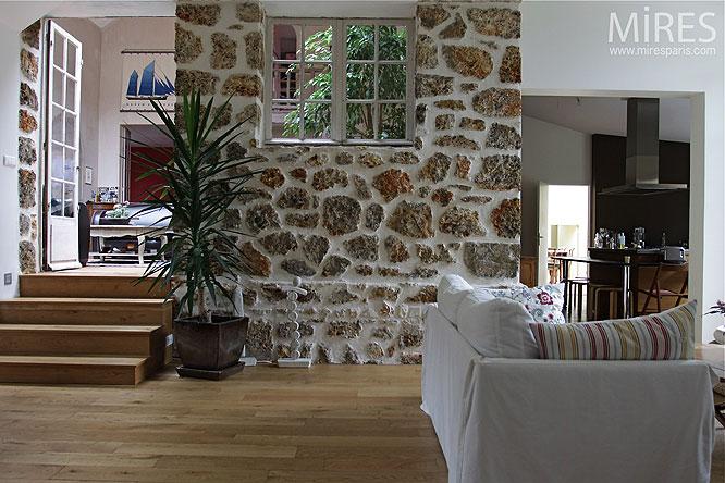 Meuli re et chemin e c0177 mires paris - Maison en pierre meuliere ...
