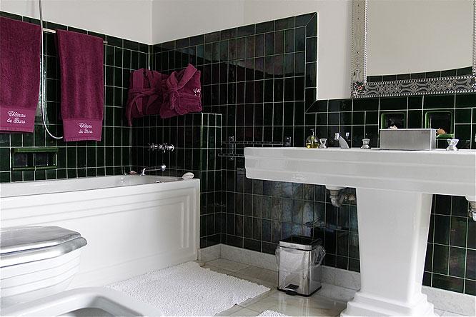 Salle de bains rétro. C0277