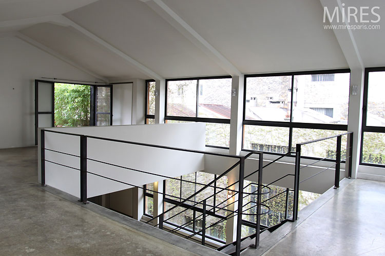escalier beton brut gallery of muc with escalier beton brut cool pour poursuivre with escalier. Black Bedroom Furniture Sets. Home Design Ideas