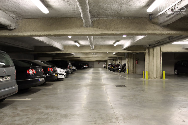 Parking en sous sol c0316 mires paris - Hauteur garage sous sol ...