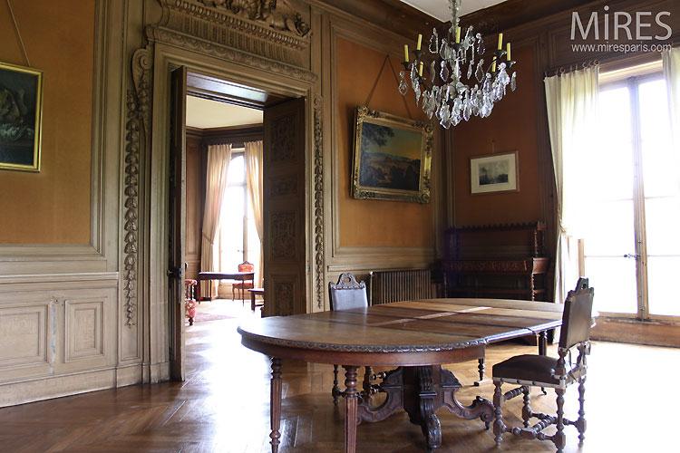Salle À Manger De Charme Ancien. C0333 | Mires Paris
