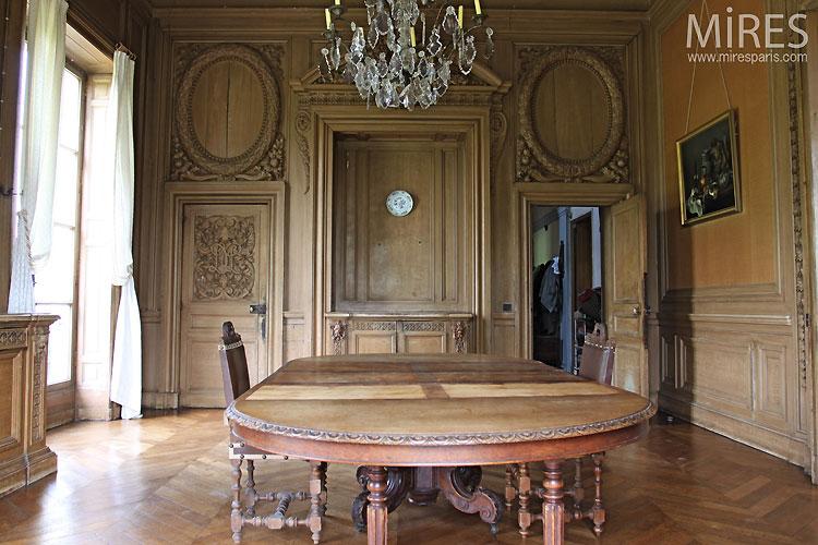Salle  Manger De Charme Ancien C  Mires Paris