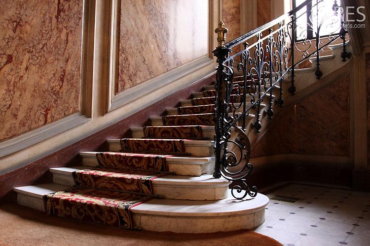 Parisian stairs. C0317