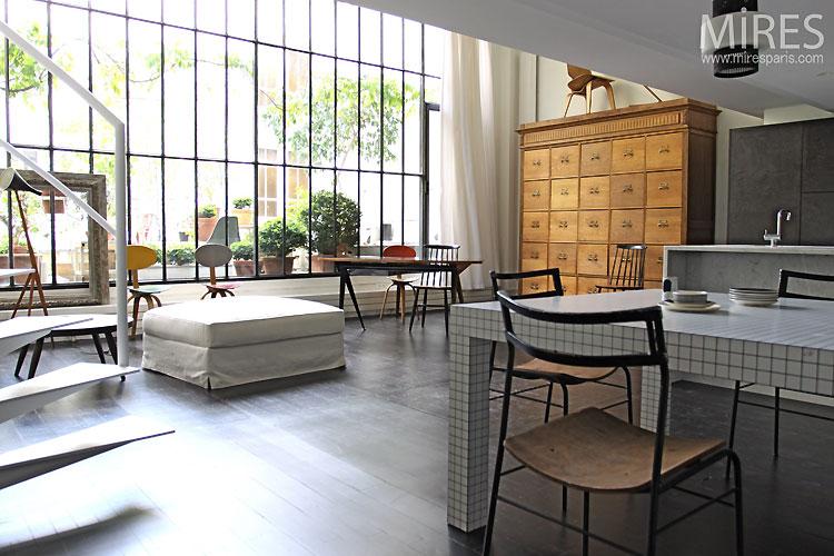 Loft atelier c0341 mires paris for Loft et atelier