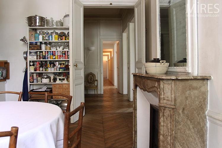 cuisine parisienne c0381 mires paris. Black Bedroom Furniture Sets. Home Design Ideas