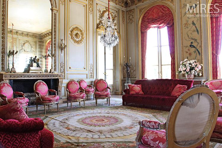 miroir et dorures au salon c0355 mires paris. Black Bedroom Furniture Sets. Home Design Ideas