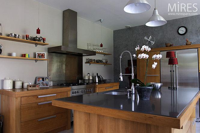cuisine et lot central c0259 mires paris. Black Bedroom Furniture Sets. Home Design Ideas