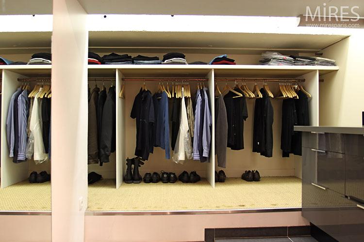Carrelage Marbre Salon : Dressing and buanderie c mires paris