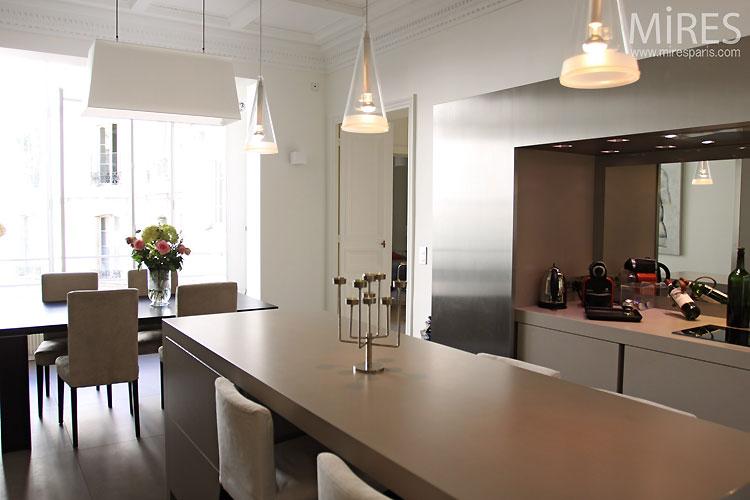 Grande cuisine design c0442 mires paris for Grande cuisine design