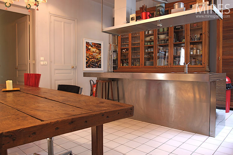 grande cuisine moderne c0452 mires paris. Black Bedroom Furniture Sets. Home Design Ideas