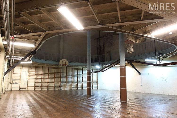Salle de basket d'antan. C0462