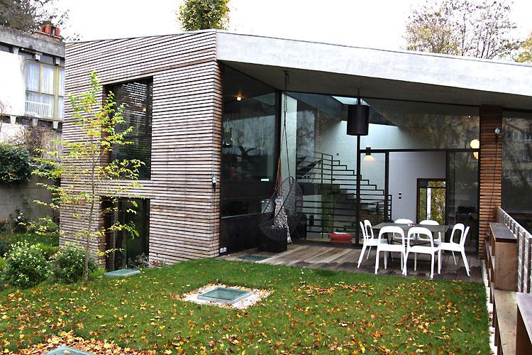 Top Terrasse, jardin et baie vitrée. C0461 | Mires Paris NG68