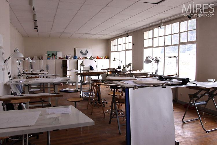 Salle De Classe D Art C0519 Mires Paris