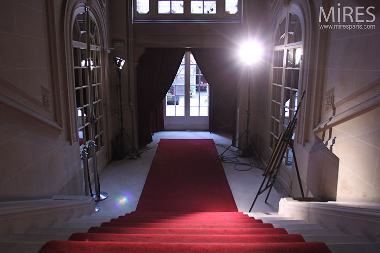 Entrance and red carpet. C0503