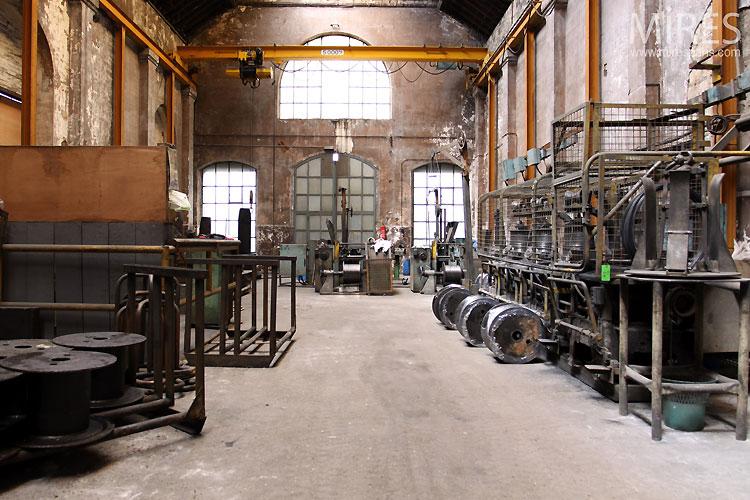 Ancienne usine c0546 mires paris - Acheter ancienne usine ...