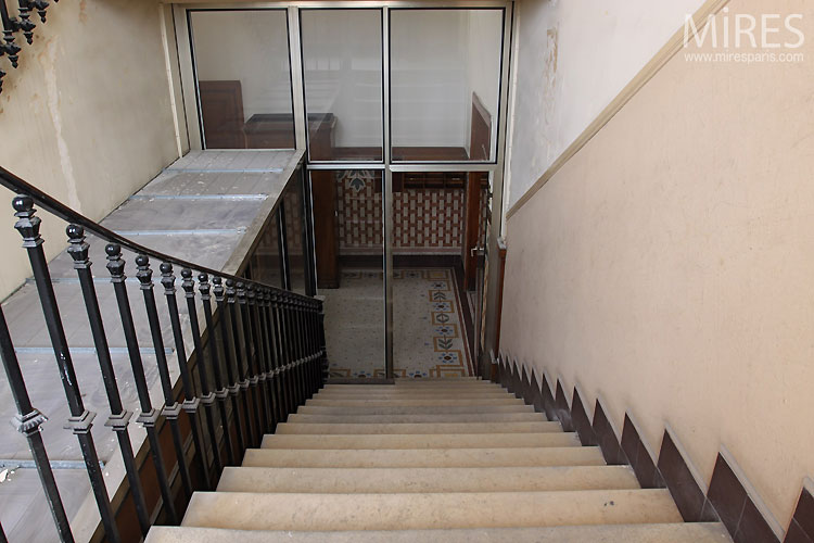 Large staircase. C0546