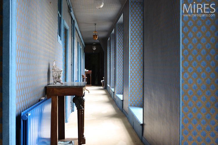 Couloir Bleu Couloir Jaune C0545 Mires Paris