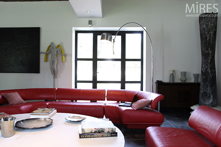 Grand salon moderne. C0535 | Mires Paris