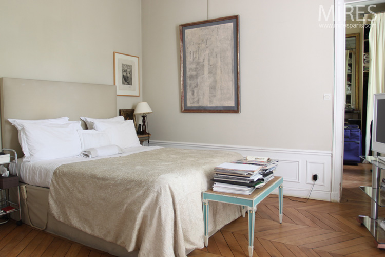 Chambre beige for Chambre ton beige