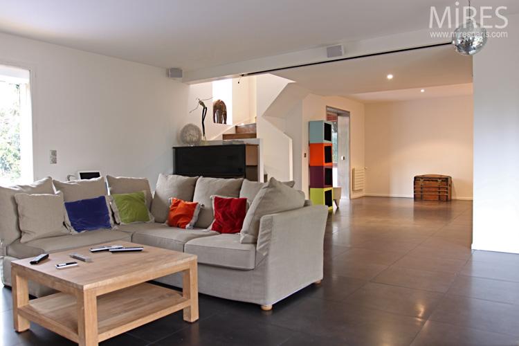 Coussins confort pour home cinéma. C0661
