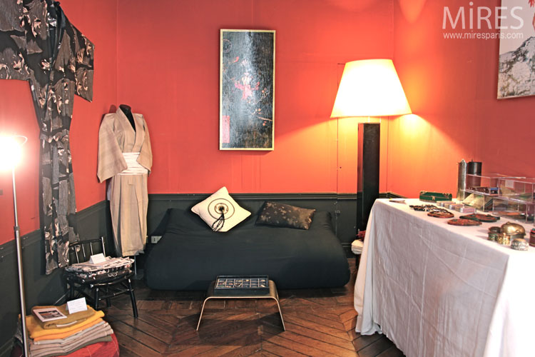 Salon d'exposition. C0666