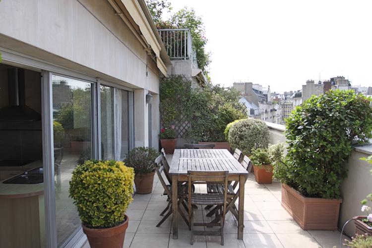 terrasse soleil et plantes c0589 mires paris. Black Bedroom Furniture Sets. Home Design Ideas