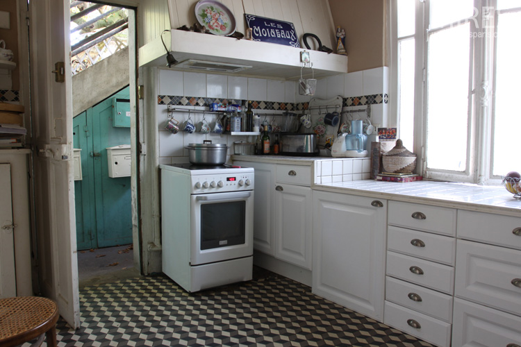 A country kitchen. C0592