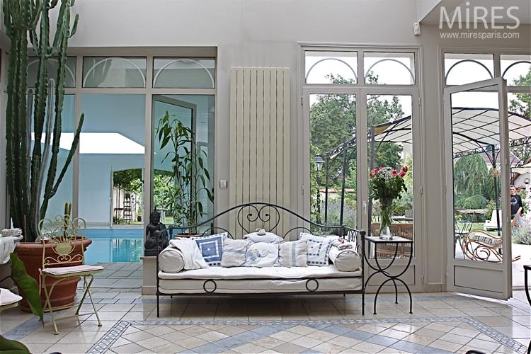 terrasse jardin d hiver. Black Bedroom Furniture Sets. Home Design Ideas