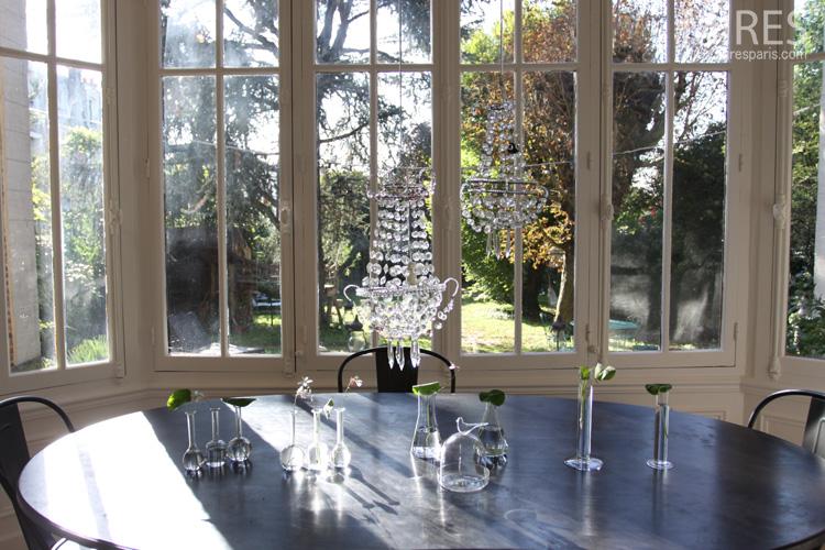 Effets de crystal dans le bow-window. C0089
