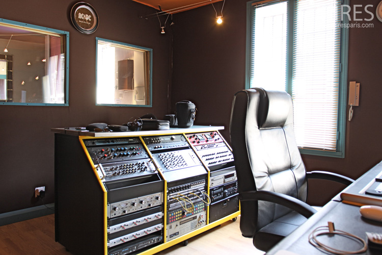 Room for recording, mixing and mastering. C0598
