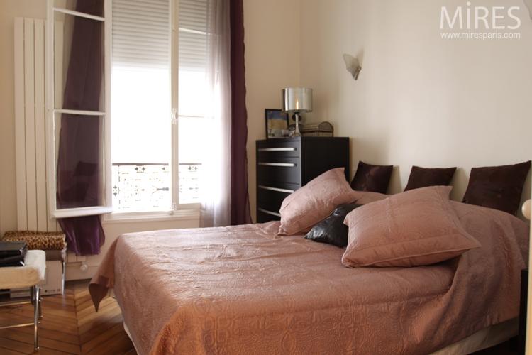 Chambre, ambiance vieux rose. C0632 | Mires Paris