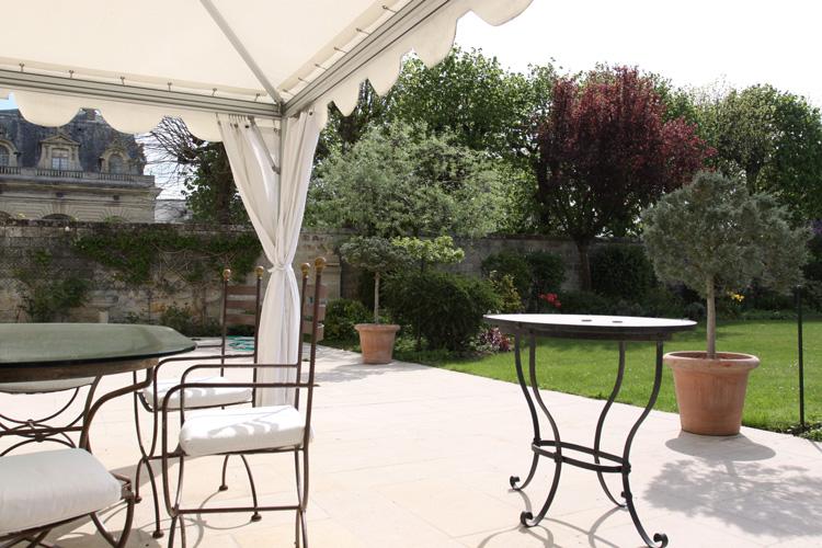 Tente de jardin tonnelle mobilier de jardin en fer forg c0582 mires paris - Mobilier jardin brabant wallon paris ...
