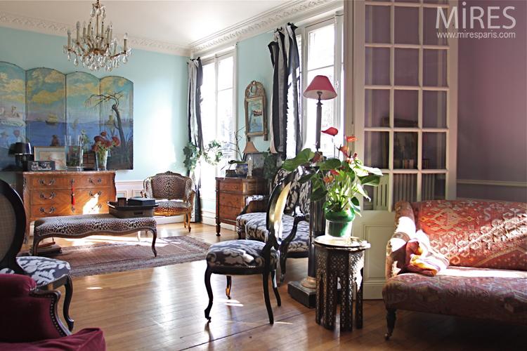Salon Gai Et Exotique. C0639