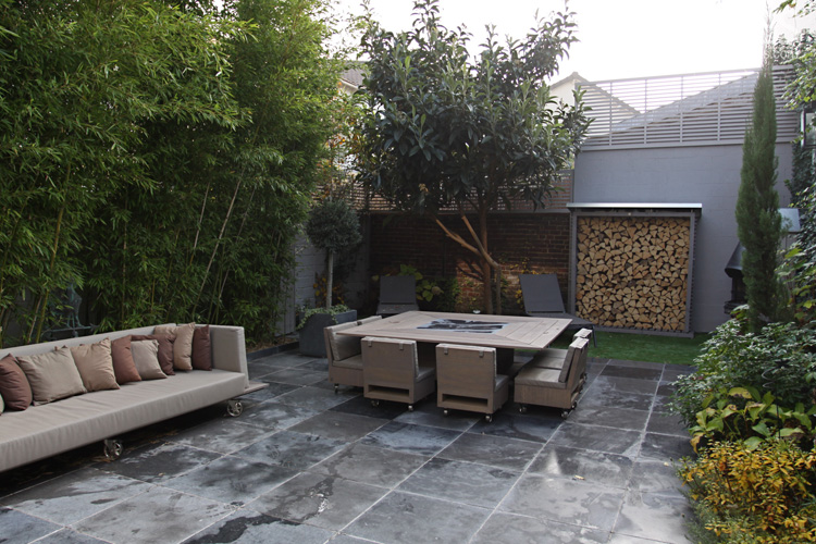 Terrasse-Salon De Style Flamand. C0649 | Mires Paris