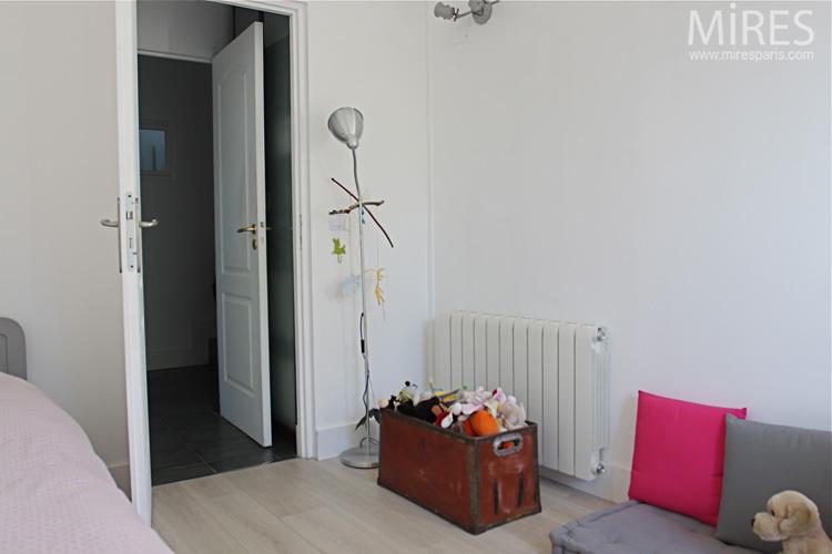 ophreycom chambre gris souris et rose pr233l232vement d