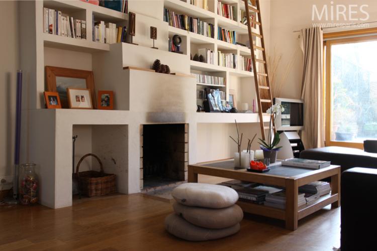 aménagement appartement haut plafond