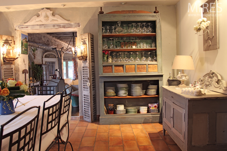 Country chic ambiance c0678 mires paris for Deco campagne chic cuisine