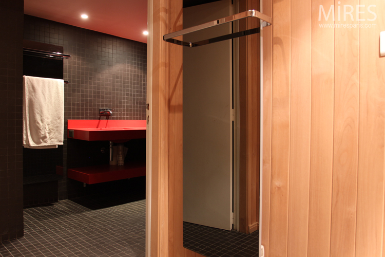 Sauna in basement. C0705