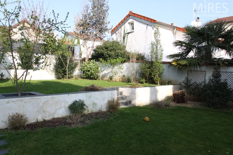 D coration chambre orange et blanche grenoble 3312 for Jardin 2 niveaux