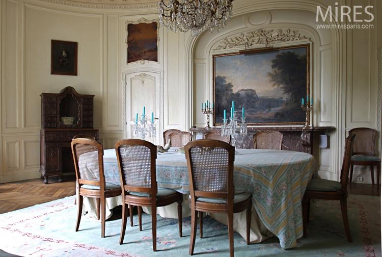 salle manger romantique sur terrasse c0723 mires paris. Black Bedroom Furniture Sets. Home Design Ideas
