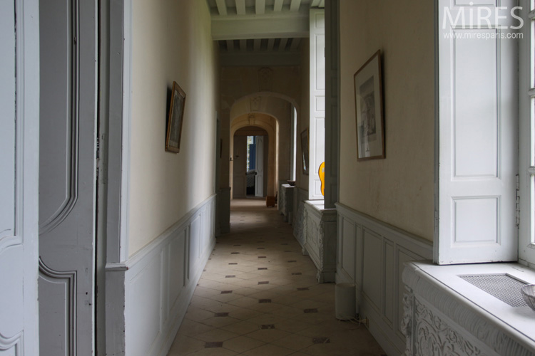 Corridors and staircases. C0738