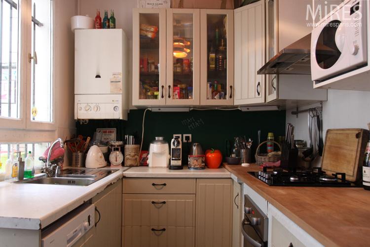 Petite cuisine blanche c0742 mires paris - Petite cuisine blanche ...
