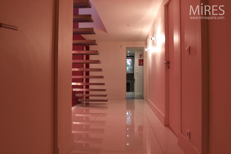 Couloirs et escaliers. C0216