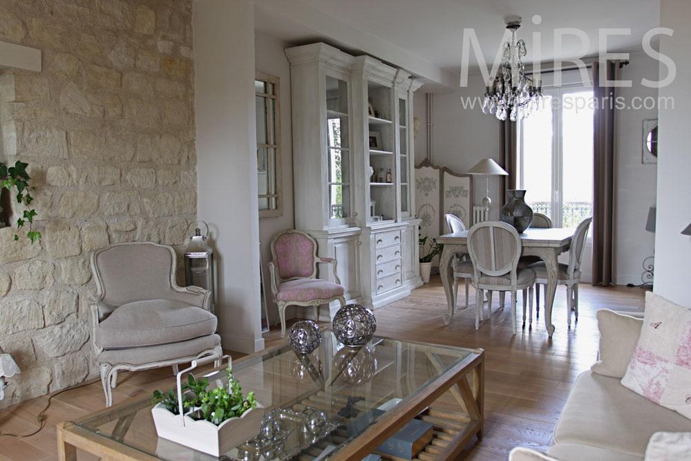 Pavillon d co chic c0763 mires paris for Deco couloir chic