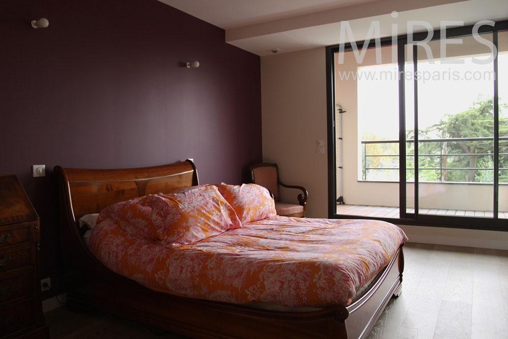 Chambre à coucher avec salle de bains et buanderie. C0767 | Mires ...