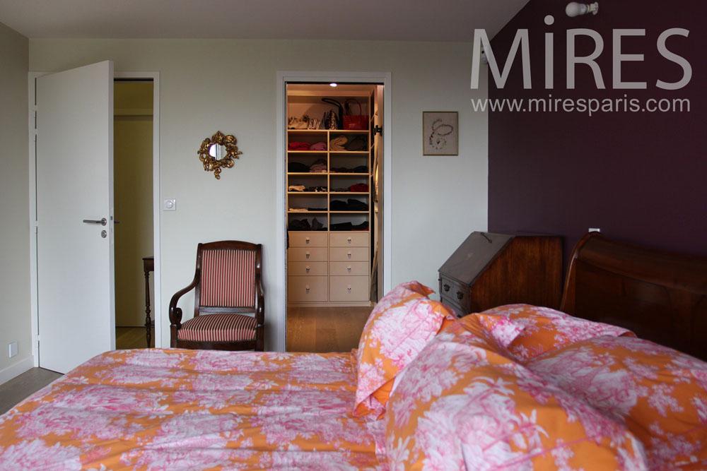 Chambre coucher avec salle de bains et buanderie c0767 Salle de bain chambre a coucher
