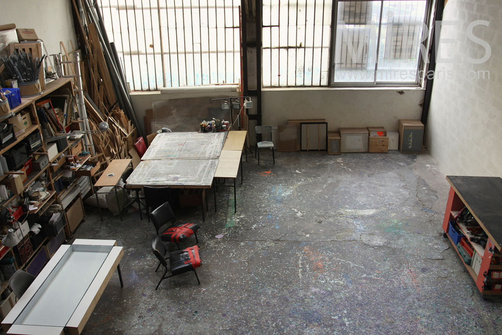 Workshop space. C0797