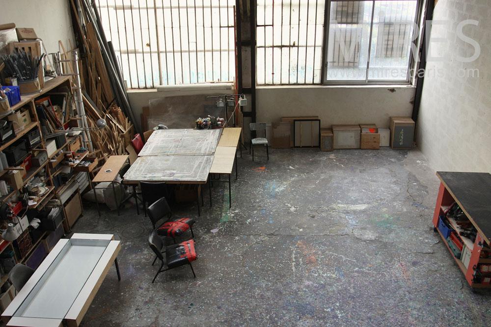 Espace atelier. C0797