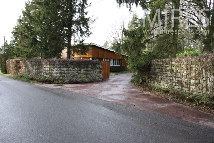 Park entrance. C0818
