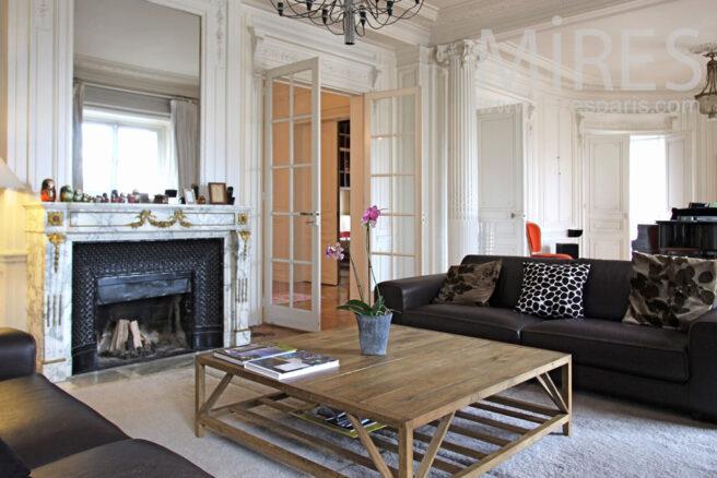 Deco chic flat c0821 mires paris - Deco moderne flat ...